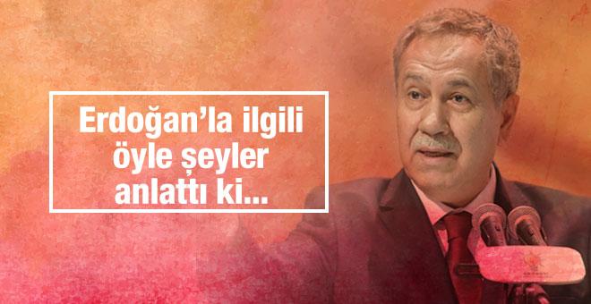 Bülent Arınç'tan Erdoğan açıklaması