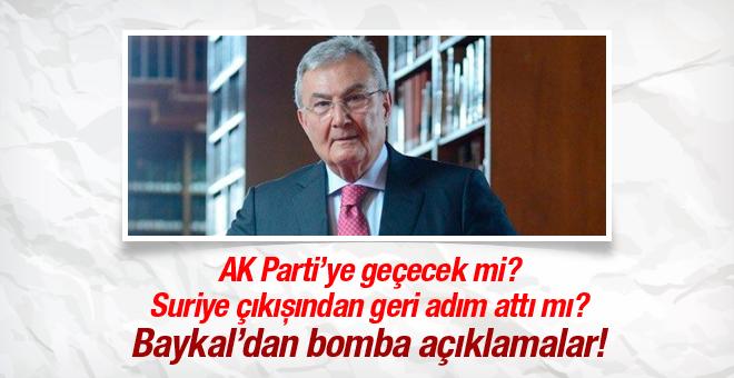 Baykal'dan AK Parti'ye Suriye desteği!