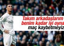 Cristiano Ronaldo takım arkadaşlarını eleştirdi