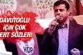 Demirtaş'tan Davutoğlu'na IŞİD ve Nusra suçlaması