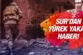 Diyarbakır'da Hain Saldırı! 1 Şehit Var!
