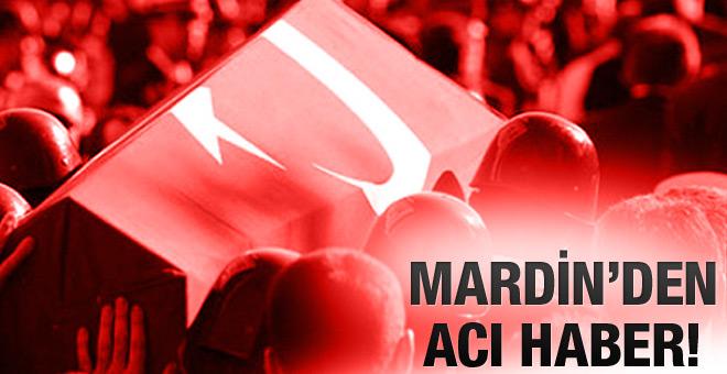 Mardin'den Acı Haber! Şehit ve Yaralılar Var