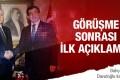 Ankara Saldırısı sonrası flaş Ahmet Davutoğlu ve Devlet Bahçeli görüşmesi