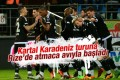 Beşiktaş Rize'de atmaca avına başladı