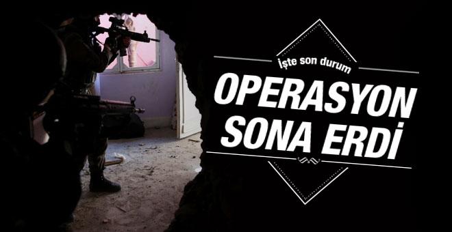 Diyarbakır Sur'da operasyonlar tamamen bitti