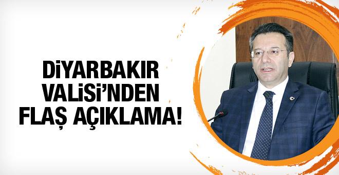 Diyarbakır Valisi'nden flaş açıklamalar!