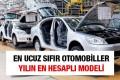 En ucuz sıfır otomobil modelleri