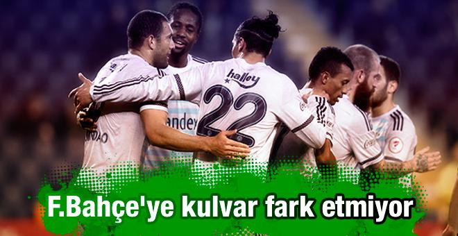 Fenerbahçe'ye lig fark etmiyor!