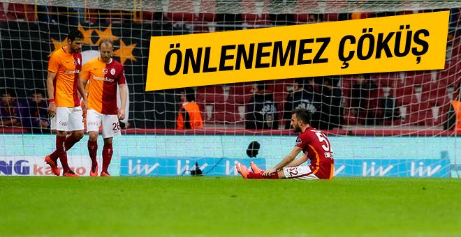 Galatasaray dibe vuruyor