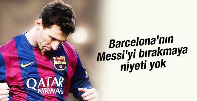 Lionel Messi'nin sözleşmesini uzatmak istiyorlar
