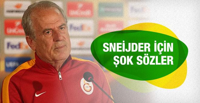Mustafa Denizli Sneijder için neler söyledi