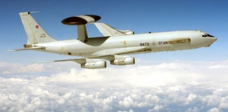 NATO uçağı Türh hava sahasında