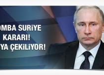 Rusya'da Suriye için önemli karar