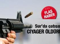 Sur'da çatışma: PKK yöneticisi öldürüldü