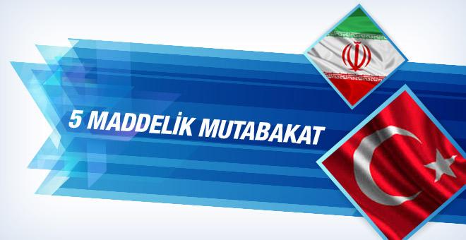 Türkiye ve İran Anlaşma sağladı, İşte anlaşma maddeleri
