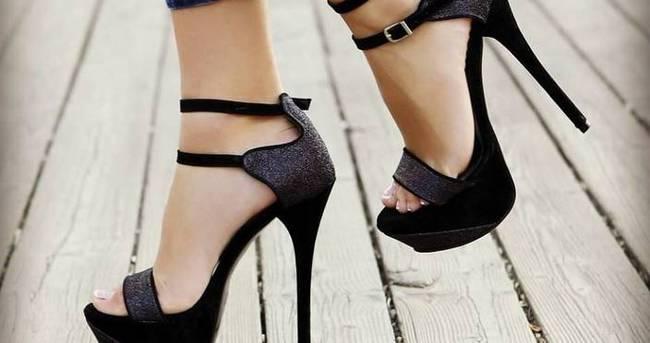 Topuklu ayakkabı giyen bayanlar dikkat