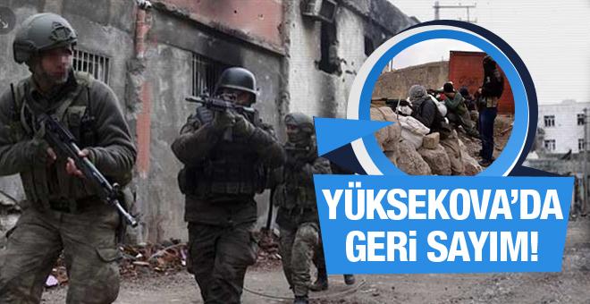 Yüksekova'da Öğretmenler izne çıkarıldı
