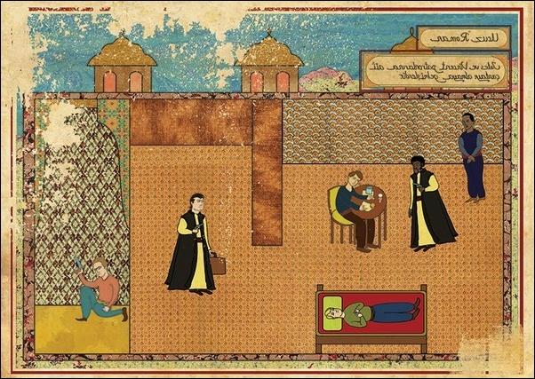Film Afişleri Osmanlı Minyatürü Olsaydı