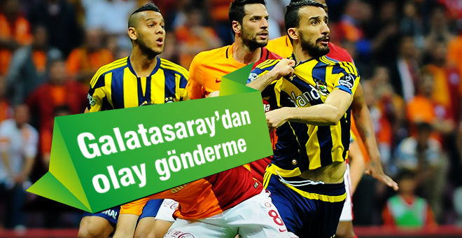 Fenerbahçe'ye Galataray Göndermesi