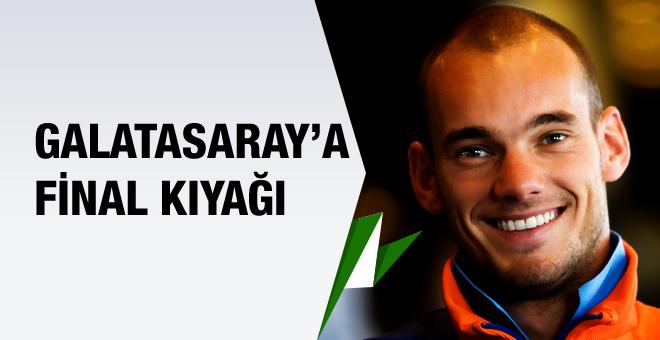 Galatasaray'a final öncesi Sneijder müjdesi