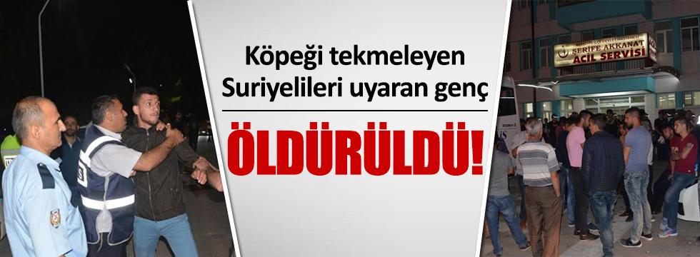 Suriyeliler Bıçakla Türk Gencini Öldürdüler